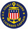 100 Ton - United States Coast Guard - Licensed Captain - Logo