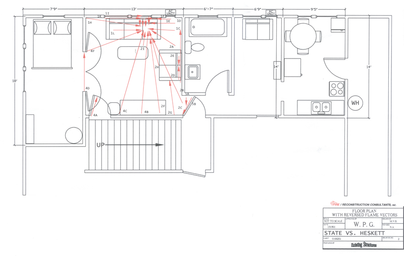 Flame Vector Analysis Diagram